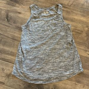 Justice grey tank size 14